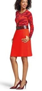 Cabi fiery red skirt sz 10 great condition